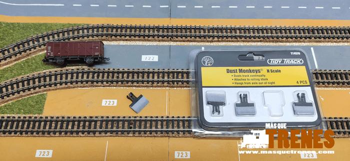 accessoire de wagon de nettoyage de rails